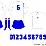 Leicester City 1976–1979 (borta)