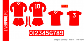 Liverpool 1976–1979 (hemma)