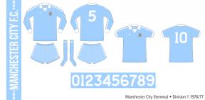Manchester City 1976/77 (hemma)