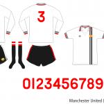 Manchester United 1975–1978 (borta)