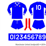 Manchester United 1976/77 (UEFA-cupen, tredjeställ)