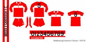 Middlesbrough 1975/76 (hemma)
