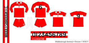 Middlesbrough 1976/77 (hemma)