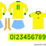 Newcastle United 1975/76 (borta)