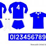 Newcastle United 1975/76 (tredjeställ)