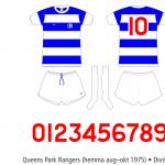 Queens Park Rangers 1975/76 (hemma aug–okt 1975)
