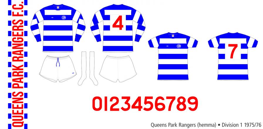 Queens Park Rangers 1975/76 (hemma)