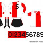 Queens Park Rangers 1975/76 (borta)