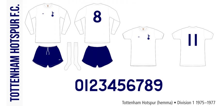 Tottenham Hotspur 1975–1977 (hemma)