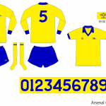 Arsenal 1978–1981 (borta)