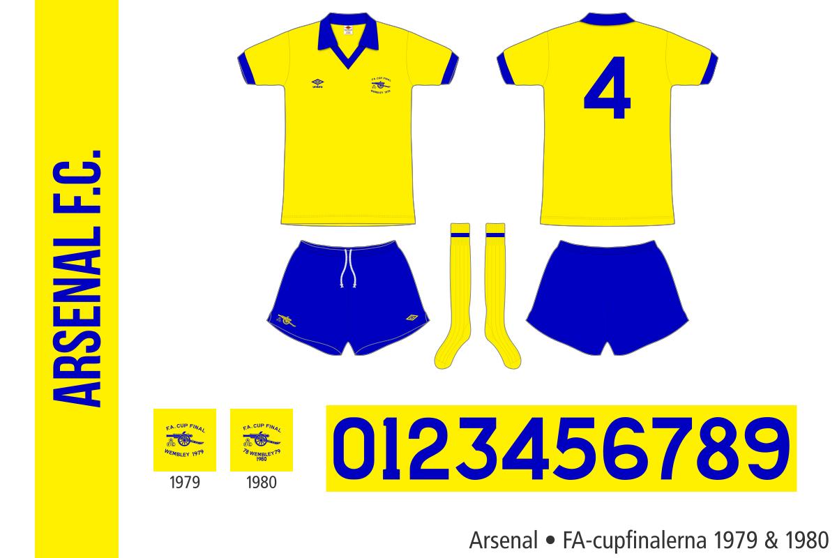 Arsenal (FA-cupfinalerna 1979 och 1980)
