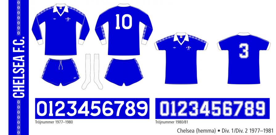 Chelsea 1977–1981 (hemma)