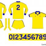 Everton 1977/78 (borta)