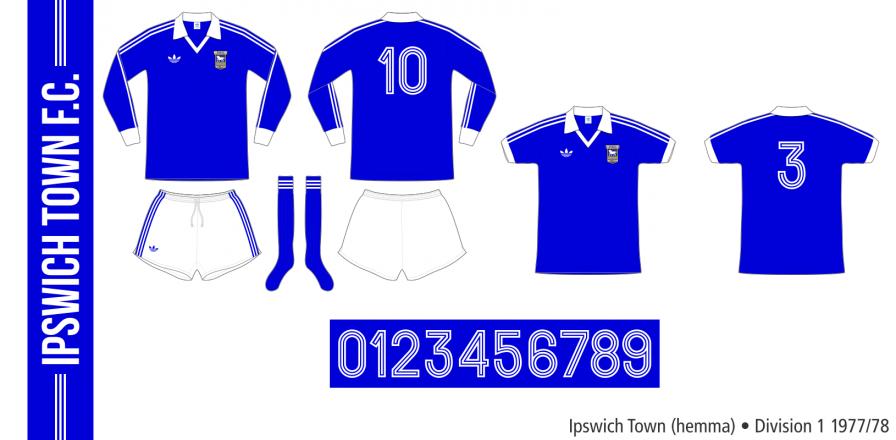 Ipswich Town 1977/78 (hemma)