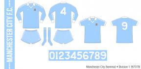 Manchester City 1977/78 (hemma)