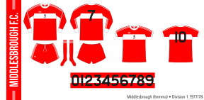 Middlesbrough 1977/78 (hemma)