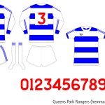 Queens Park Rangers 1976/77 (hemma november–april)