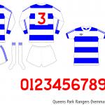 Queens Park Rangers 1976/77 (hemma november–april)