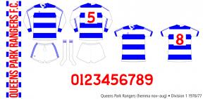 Queens Park Rangers 1976/77 (hemma november 1976–augusti 1977)