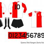 Queens Park Rangers 1976/77 (borta hösten 1976)