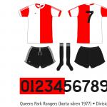 Queens Park Rangers 1976/77 (borta våren 1977)