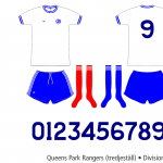 Queens Park Rangers 1976–1978 (tredjeställ)