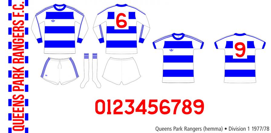 Queens Park Rangers 1977/78 (hemma)