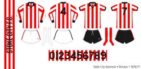 Stoke City 1976/77 (hemma)
