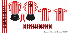 Sunderland 1976/77 (hemma)