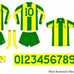 West Bromwich Albion 1976/77 (borta)