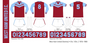 West Ham United 1976–1980 (hemma)
