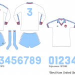 West Ham United 1976–1980 (borta)