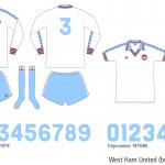 West Ham United 1976–1980 (borta)