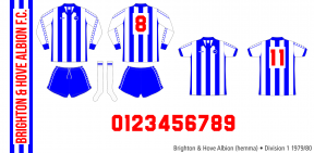 Brighton and Hove Albion 1979/80 (hemma)