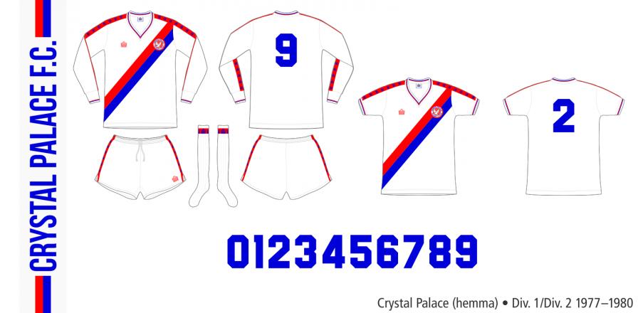 Crystal Palace 1977–1980 (hemma)