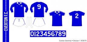Everton 1978/79 (hemma)