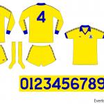Everton 1978/79 (borta)