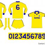 Everton 1979–1982 (borta)