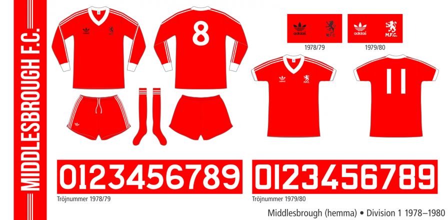 Middlesbrough 1978–1980 (hemma)