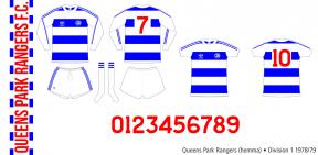 Queens Park Rangers 1978/79 (hemma)