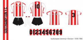 Southampton 1978–1980 (hemma)
