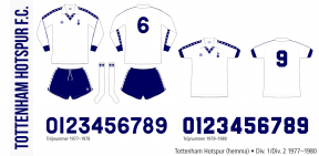 Tottenham Hotspur 1977–1980 (hemma)