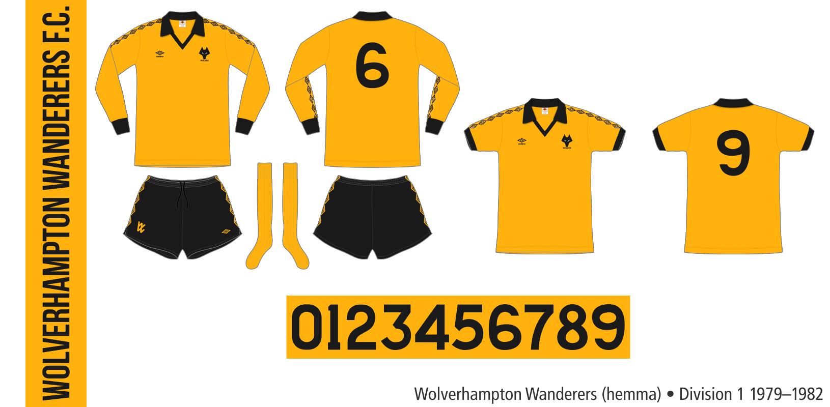 Wolverhampton Wanderers 1979–1982 (hemma)