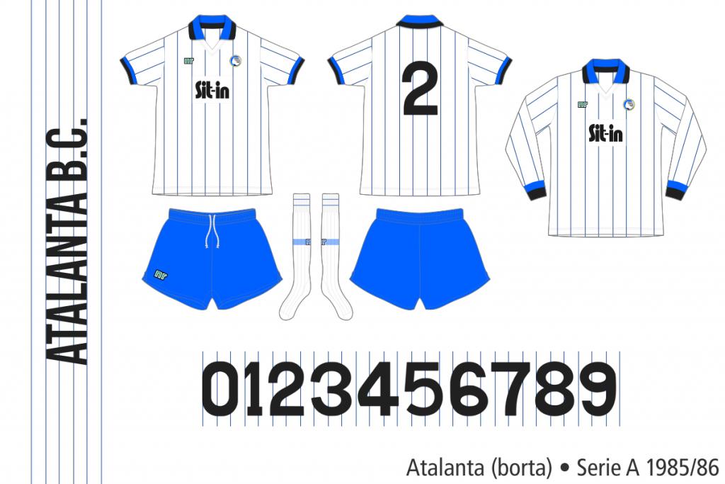 Atalanta 1985/86 (borta)