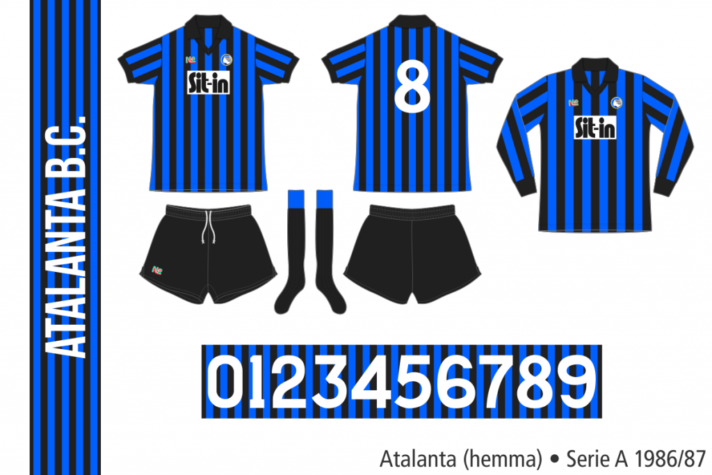 Atalanta 1986/87 (hemma)
