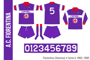 Fiorentina 1983–1985 (hemma)