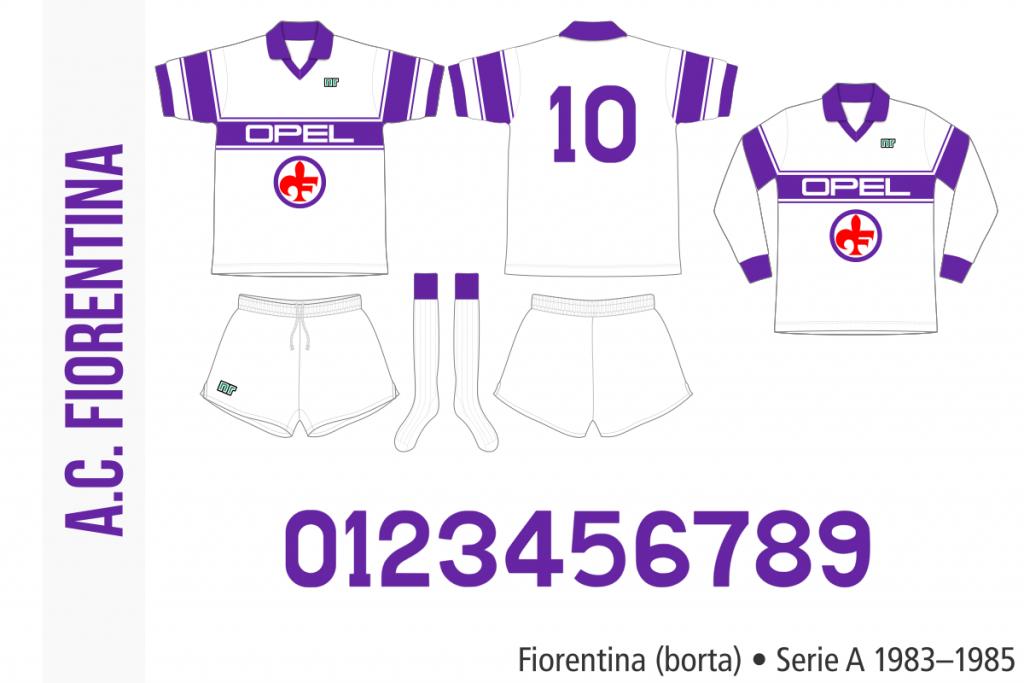 Fiorentina 1983–1985 (borta)
