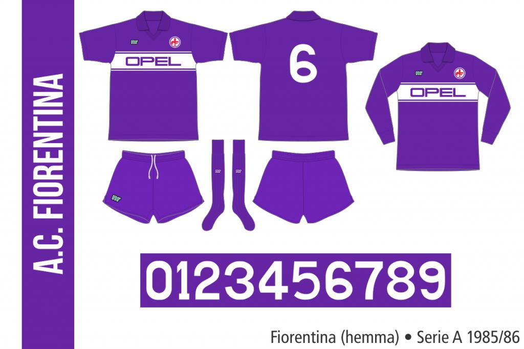 Fiorentina 1985/86 (hemma)