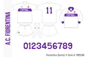 Fiorentina 1985/86 (borta)