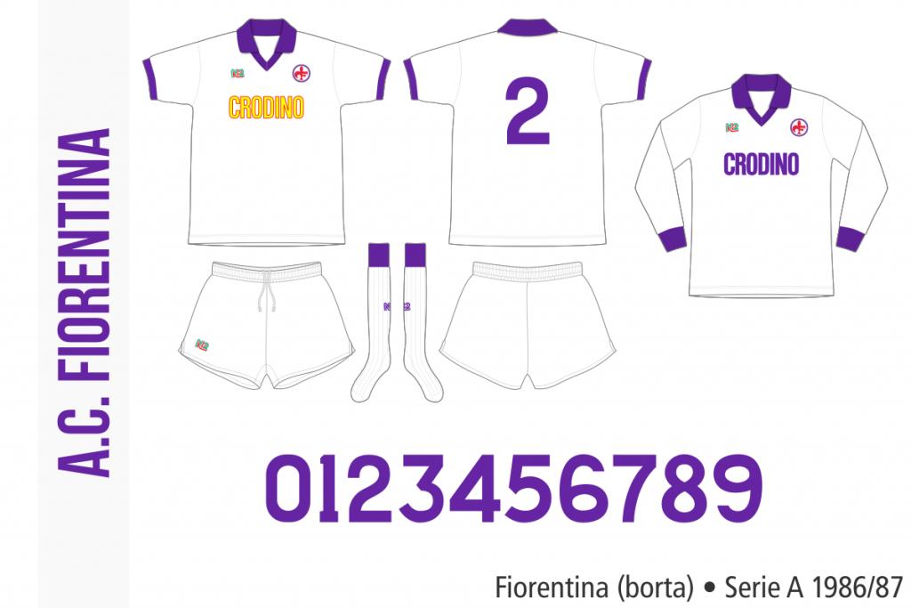Fiorentina 1986/87 (borta)
